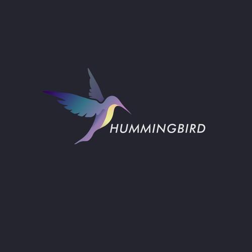 New Modern Hummingbird Logo