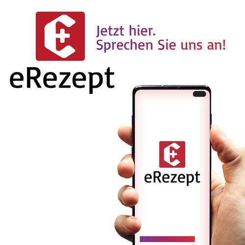 Logotype for an electronic prescription app