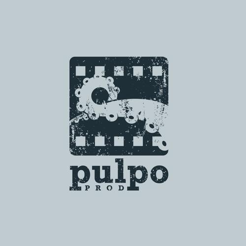 Logo for a film production company