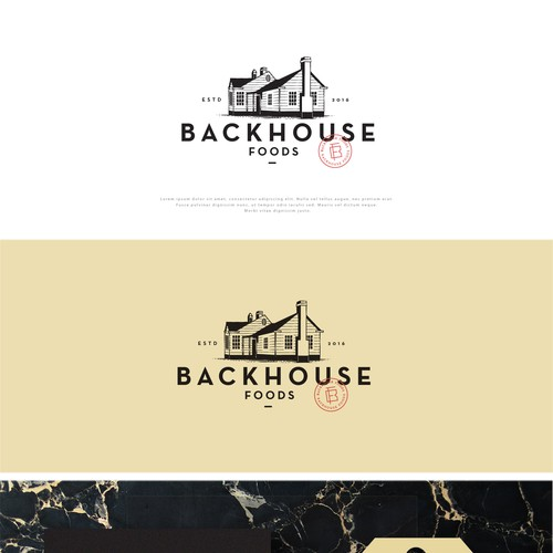 Logo Design for Backhouse Foods