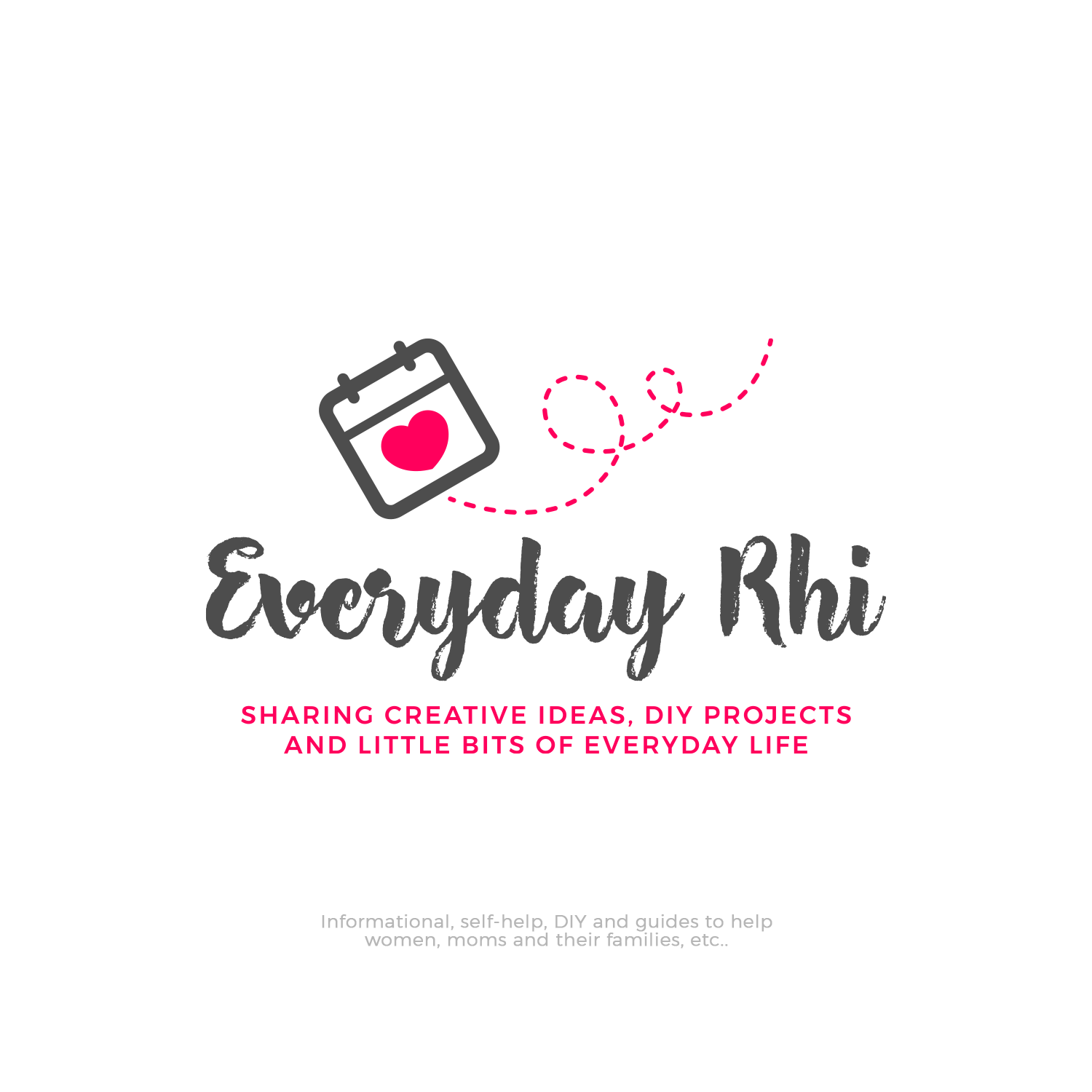 Logo Design Package - Gift for my wife's new Blogging site