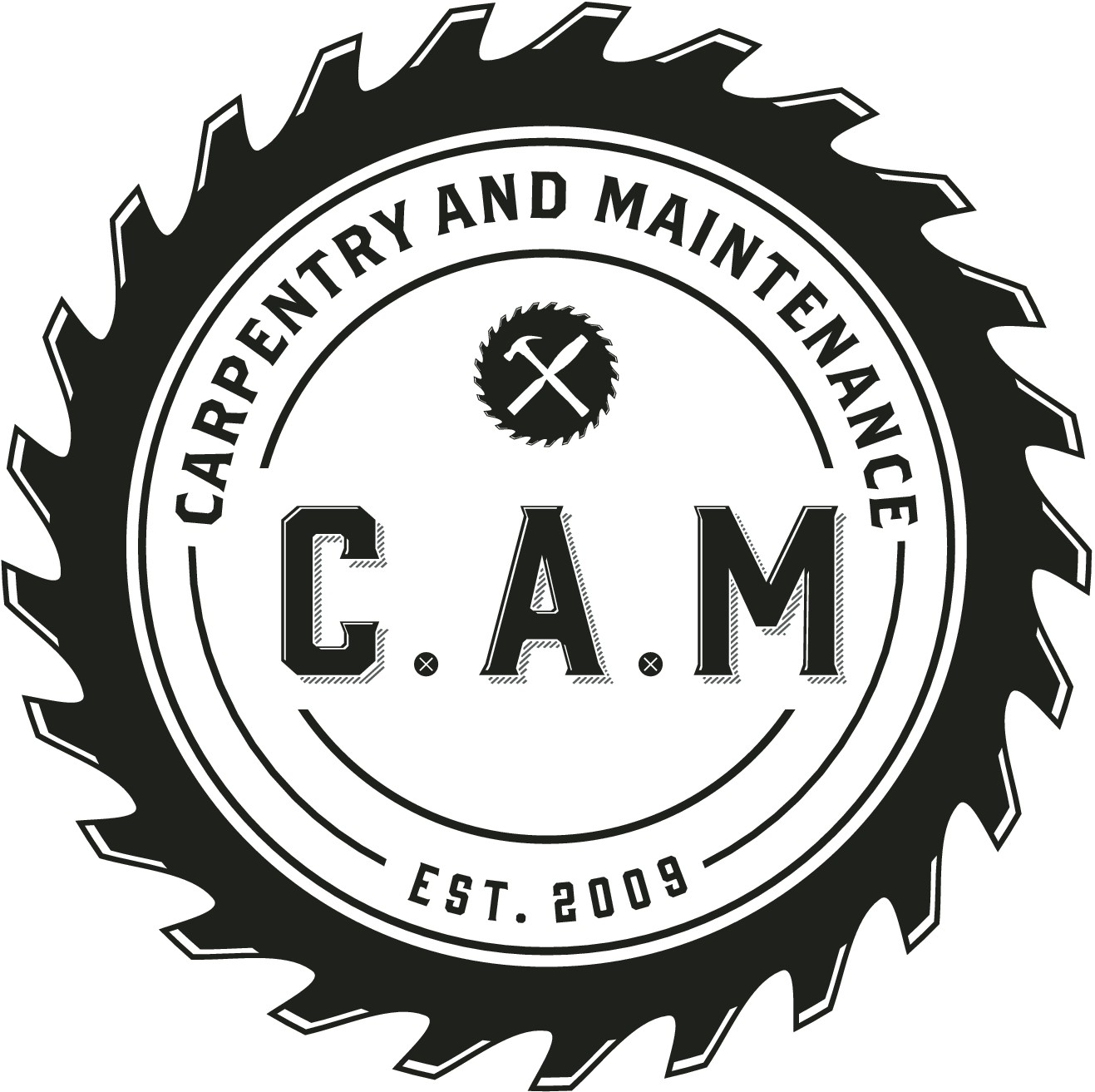 Create a very unique, vintage brewery or boutique beer inspired logo for a contruction company t shirt