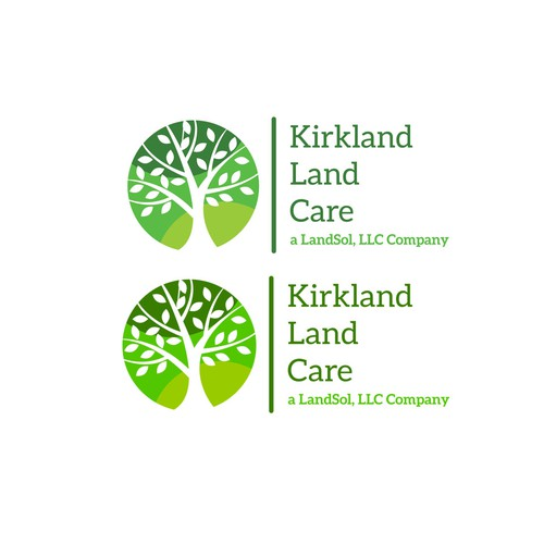 Kirkland Land Care logo concept