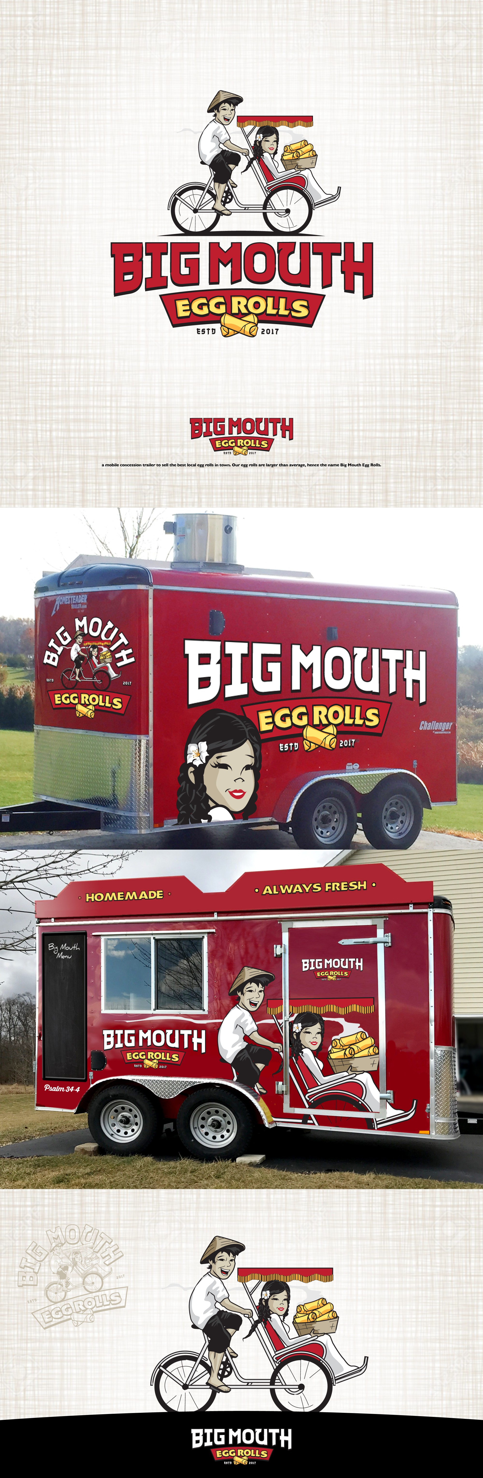 Design an eye catching, classy yet fun food trailer wrap to rival some of the best out there.