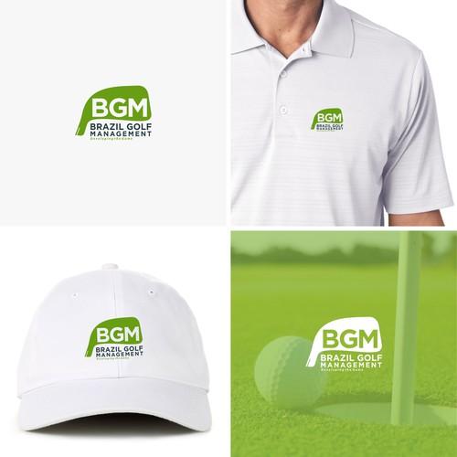 Logo golf sport course field community