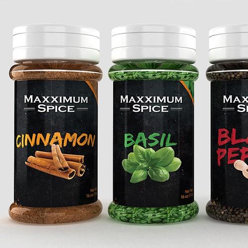 Maxximum Spice New Label