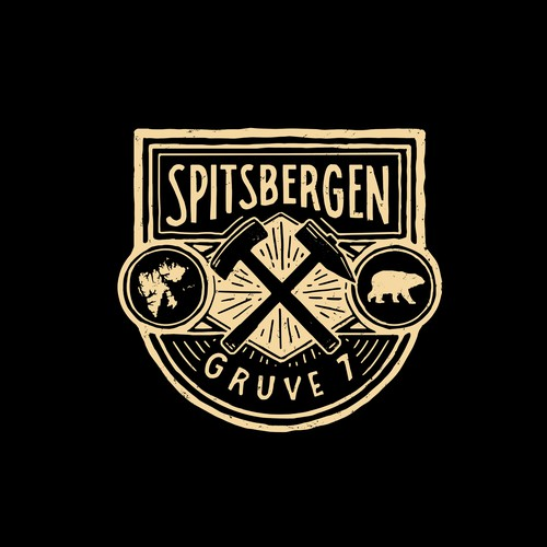 SPITSBERGEN - GRUVE 7 coalmine