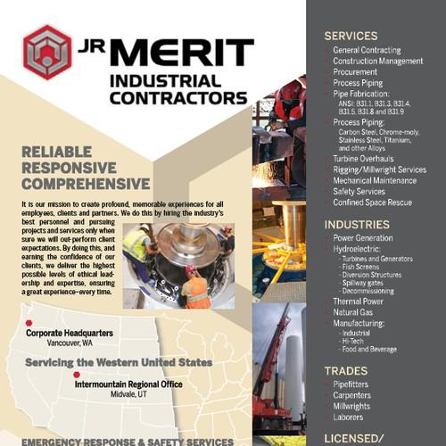 Creative Industrial Contractors Line Card/Brochure