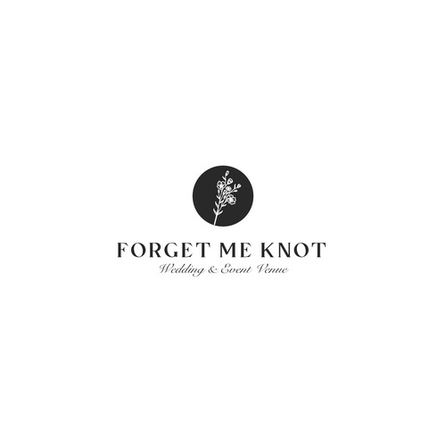 Logo concept for Forget Me Knot