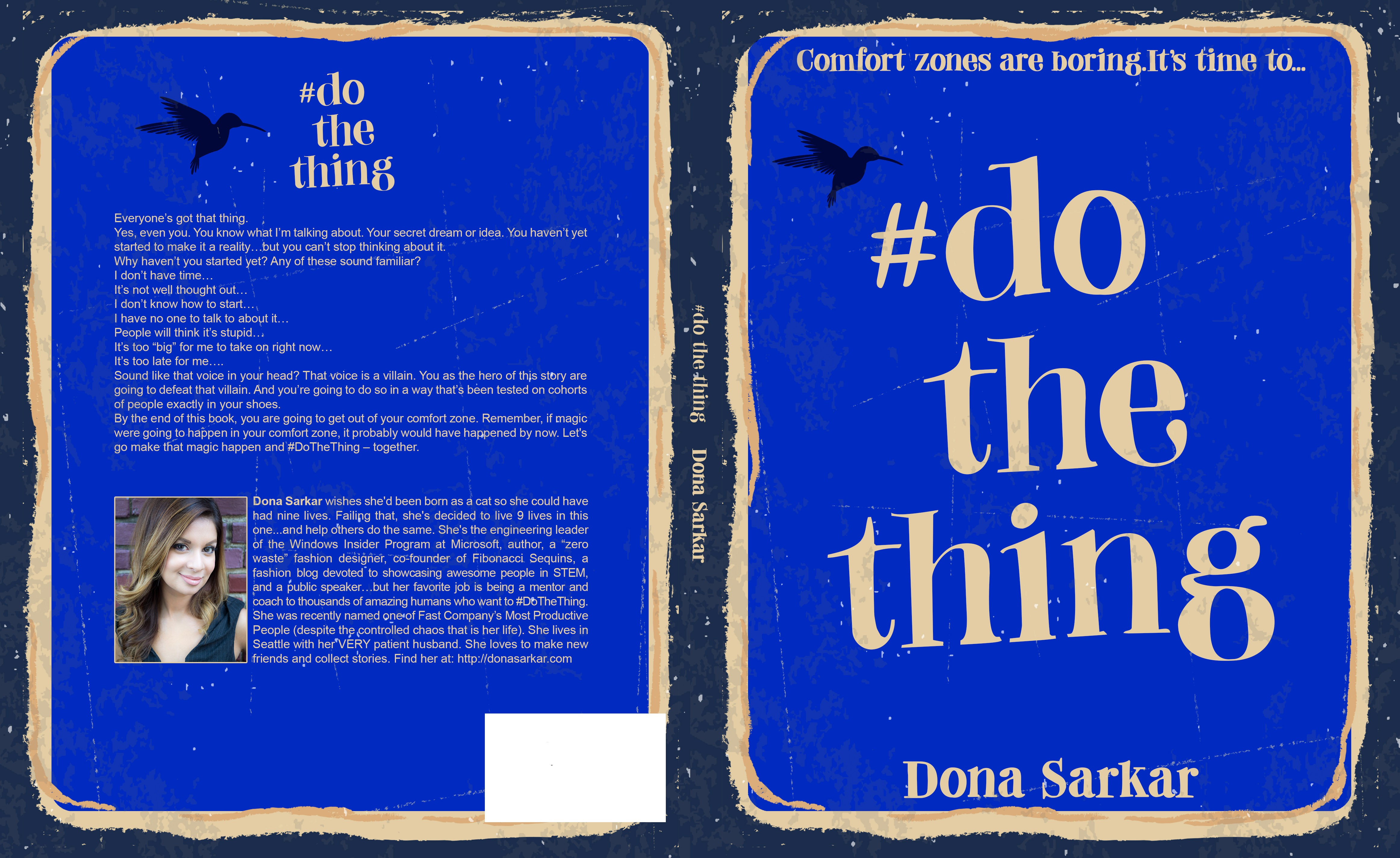Create a vintage-look journal logo to help people #DoTheThing