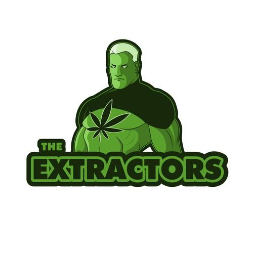 Design a fun modern logo for a cannabis extraction company