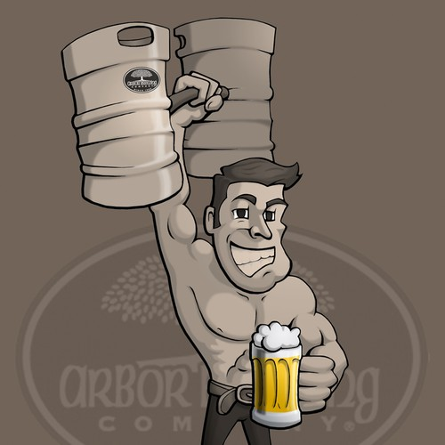 New illustration wanted for Arbor Brewing Company