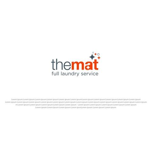 """logo for """"the mat"""""""