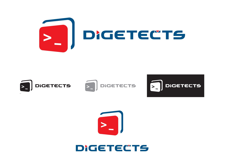 Digital Marketing & Web development agency in entertainment logo design