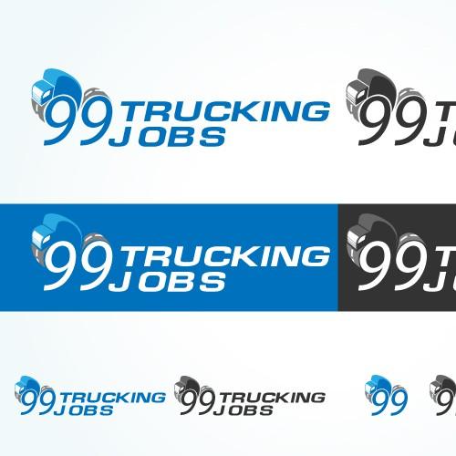 Logo for 99 Trucking Jobs