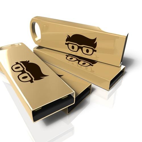 Gold USB