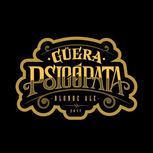 Güera Psicópata - Logo Design