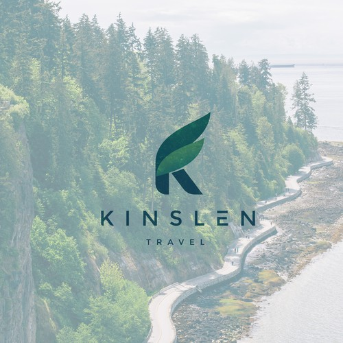 Logo Design for Kinslen travel