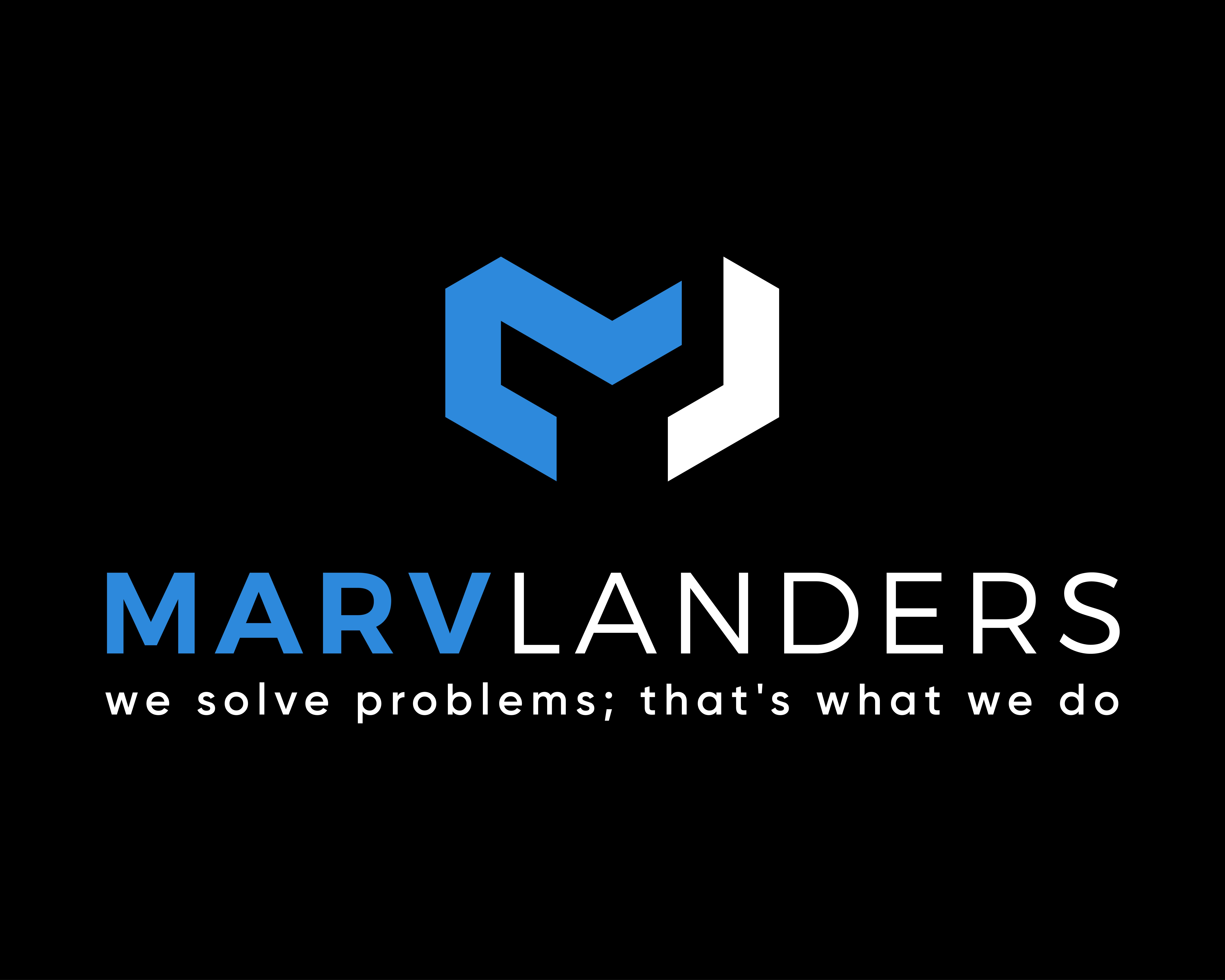 Design a logo for the consulting firm Marv Landers