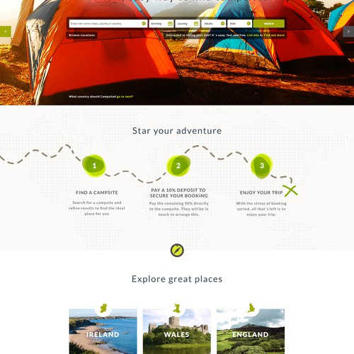 Travel Company Landing