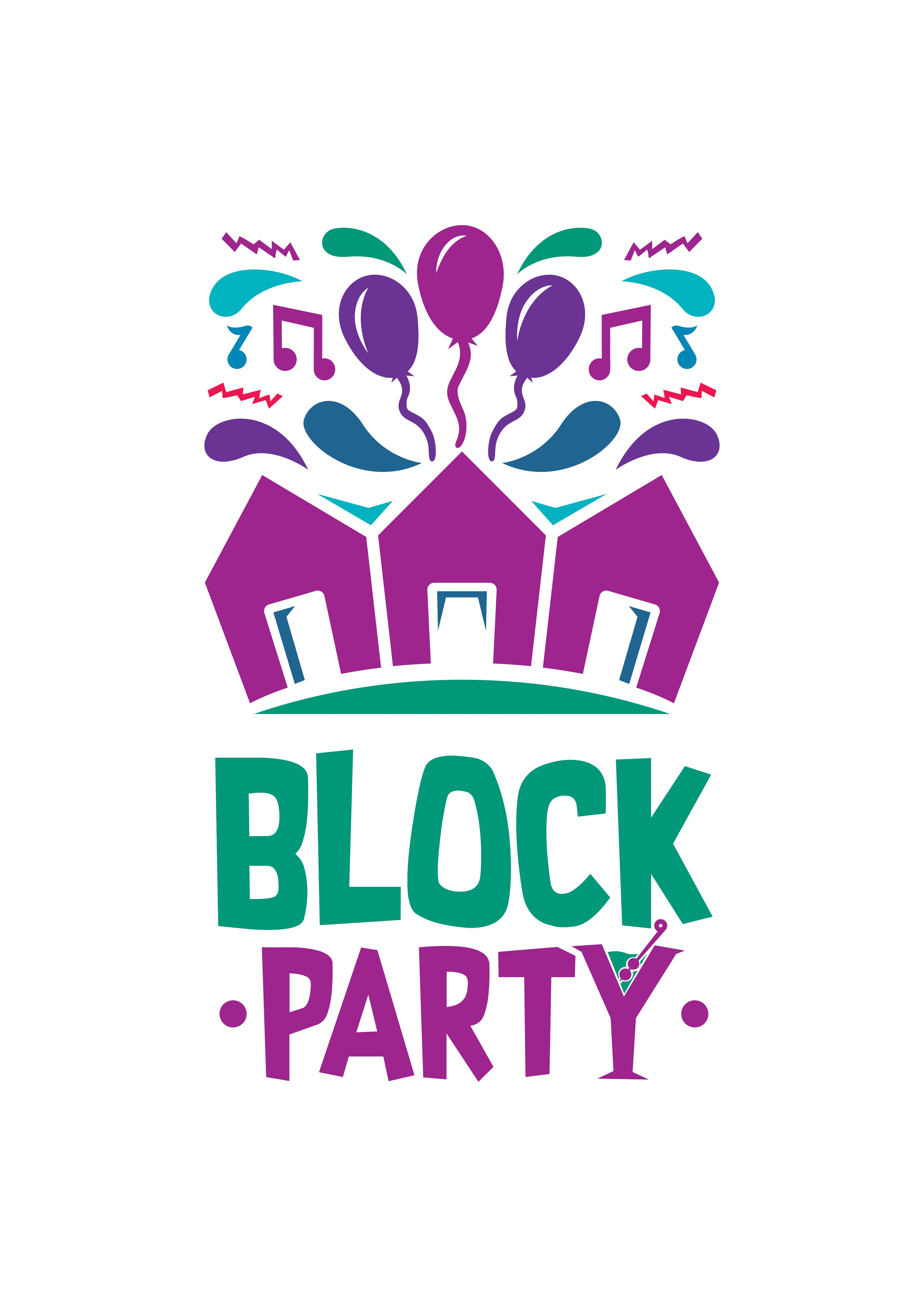 Block Party Logo Design