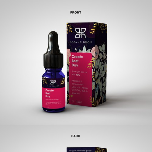 Packaging Design for CBD Oil