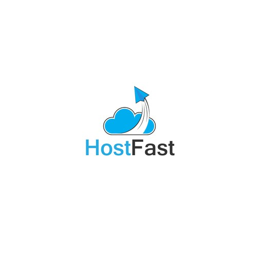 Hostfast logo concept