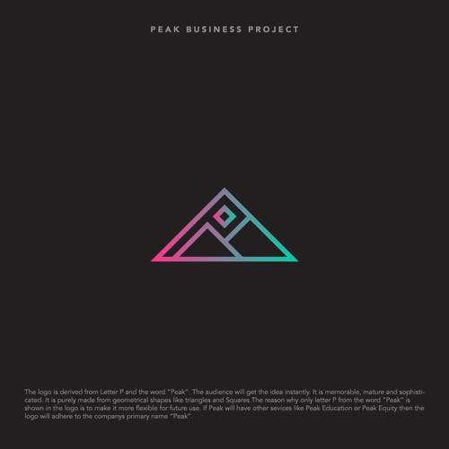 Logo design for Peak Business