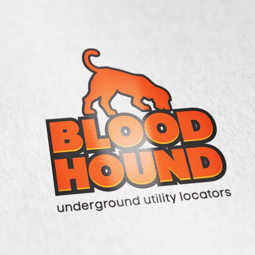 Logo Design for  Blood Hound