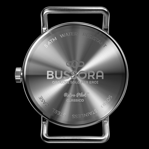back side of the watch