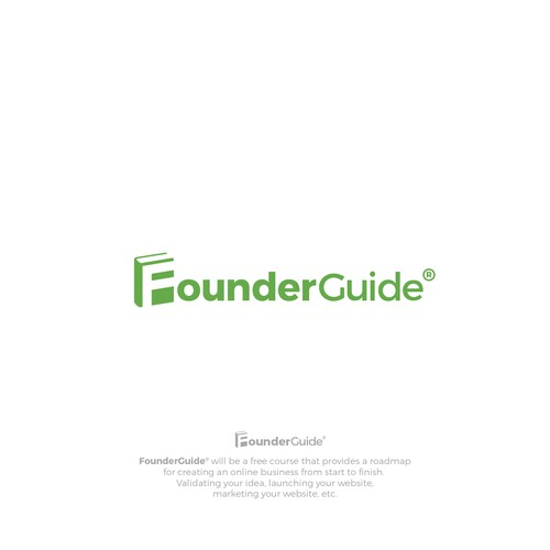 Logo for a free course about creating/founding online businesses