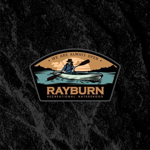 Logo concept for Lake Sam Rayburn