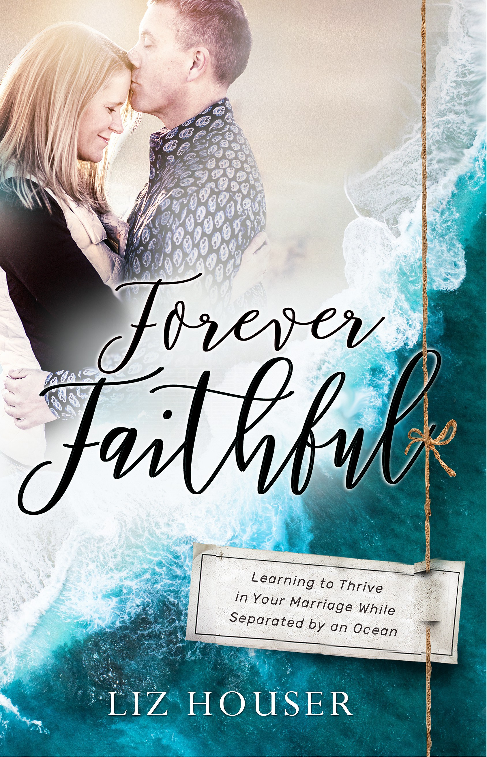 Create a real life book cover for a faithful love story