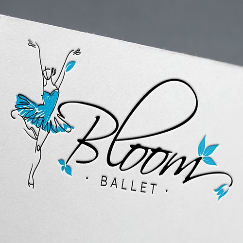 Logo concept for Bloom Ballet