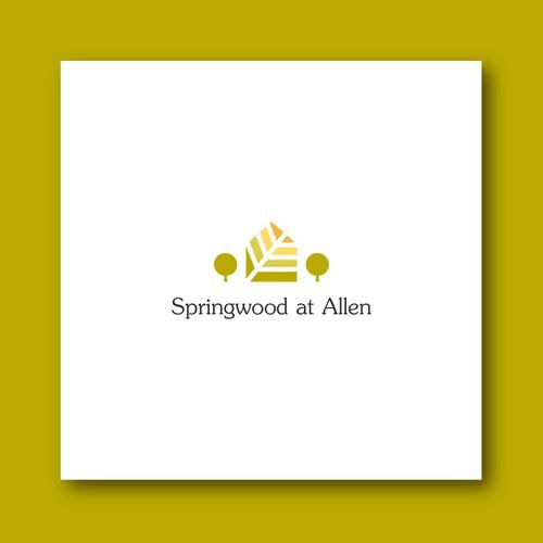 A classic logo for a new senior apartment community