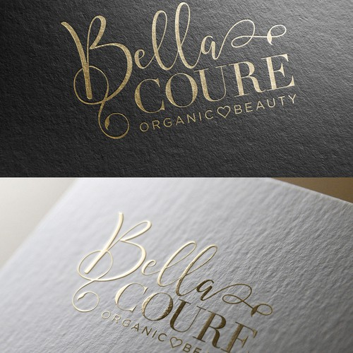 Logo for organic beauty