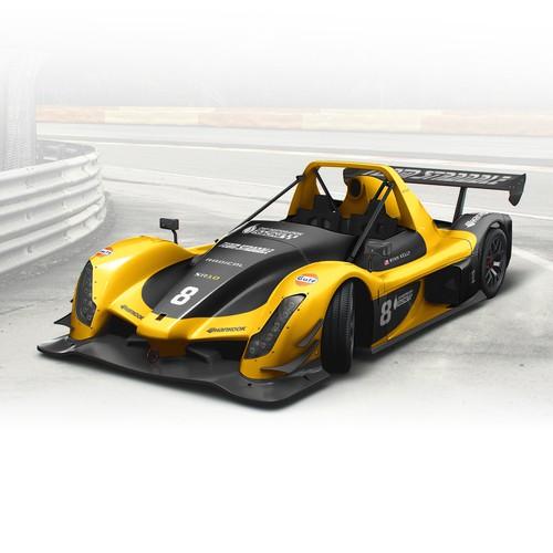 Radical SR10 Race Car Wrap Design