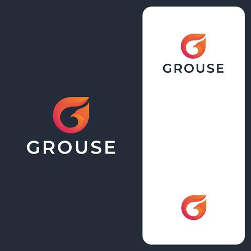 Letter G and Bird Logo