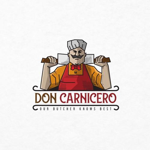 Logo for a Butcher Shop