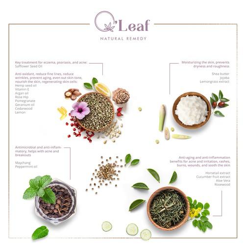 Infographics for O'leaf