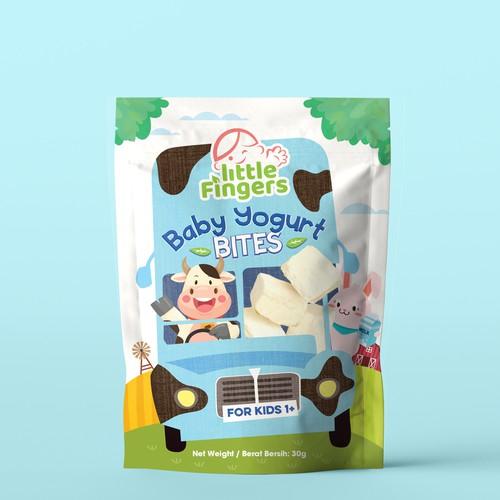 Baby Yogurt Bites