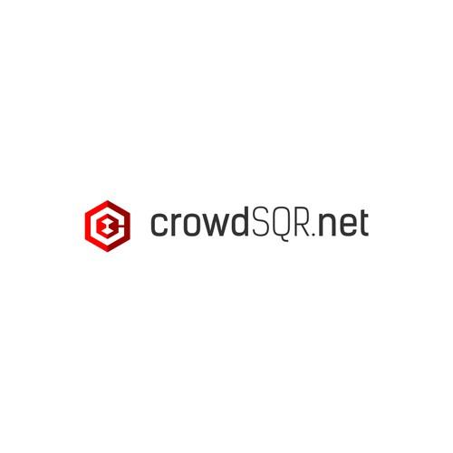 CrowdSQR.net logo concept