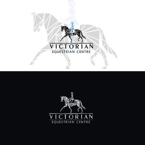 Logo for equestrian centre in Australia