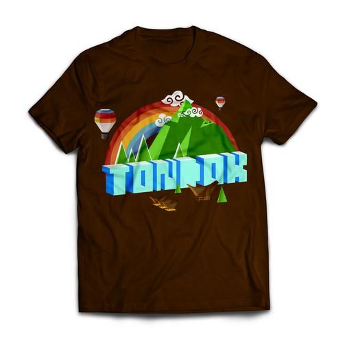Custom ethnic t-shirt design