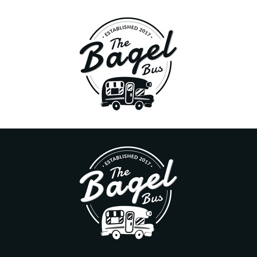 Logo Concept for The Bagel Bus