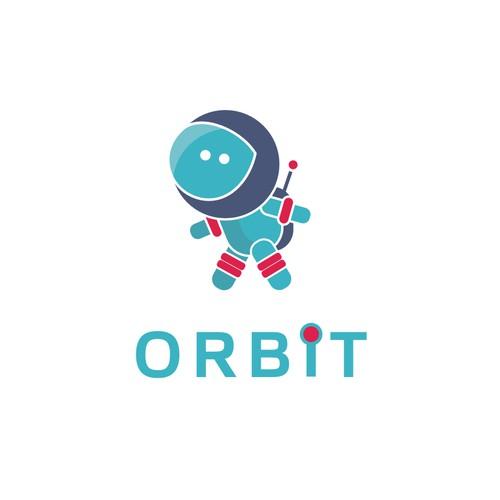 SPACE THEME! create a cute astronaut and logo