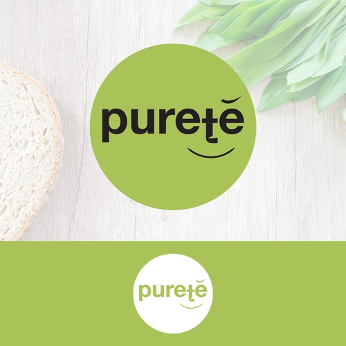 Logo for healthy food company