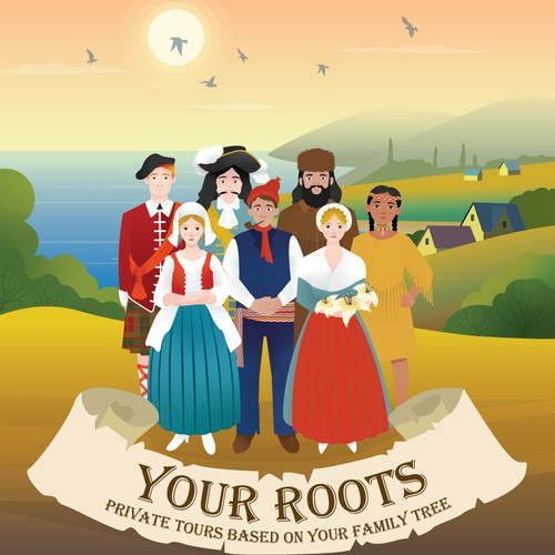 Your Roots- Poster Design entry