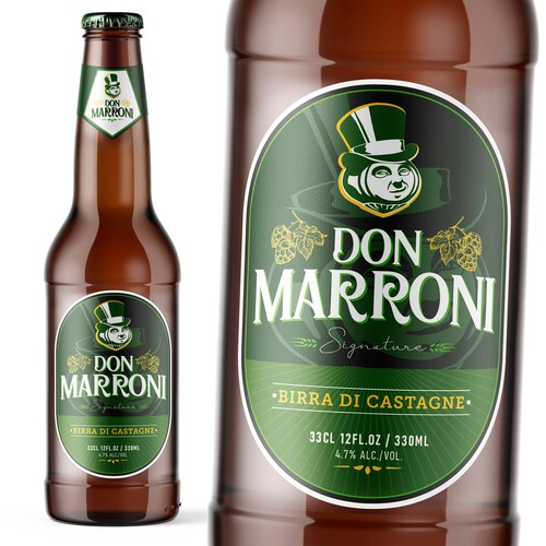 Don Marroni Beer Label
