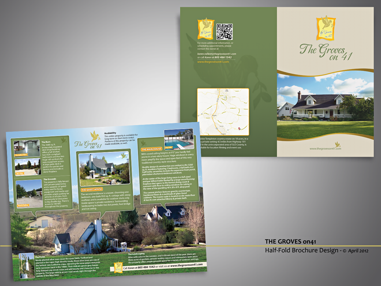 New brochure design wanted for The Groves on 41